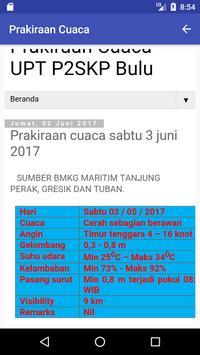 Info Cuaca P2SKP Bulu screenshot 1