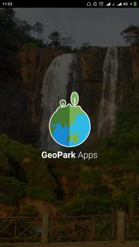 Geopark Indonesia poster