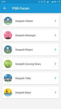 Geopark Indonesia screenshot 9