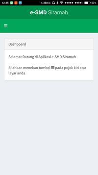 e-SMD Siramah screenshot 2