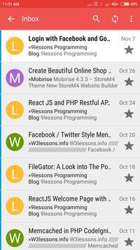 N3 Mail screenshot 1