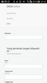 SKCK Online Polres Sidoarjo apk screenshot
