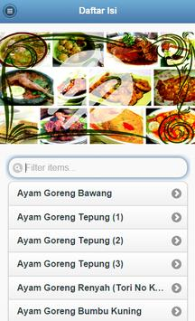 Resep Masakan Simple apk screenshot
