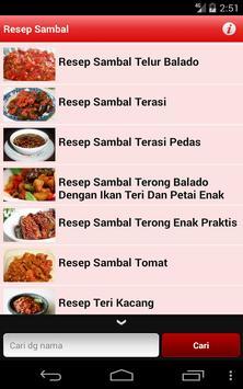 Aneka Sambal Nusantara screenshot 2