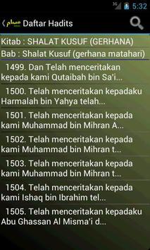 Hadits Muslim in Bahasa apk screenshot