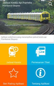 Jadwal Kereta Api Prameks poster