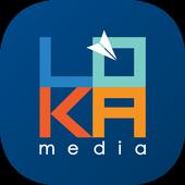 Menginstal App Lifestyle android LOKAmedia 3d