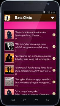 Kata Cinta Untuk Pacar apk screenshot