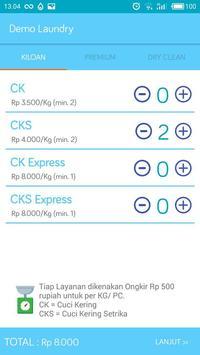 Demo Aplikasi Laundry - Biznizo screenshot 3
