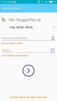 Demo Aplikasi Laundry - Biznizo screenshot 1