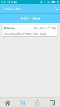 Demo Aplikasi Laundry - Biznizo screenshot 5