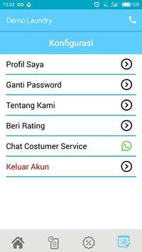 Demo Aplikasi Laundry - Biznizo screenshot 6