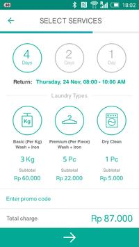 UrbanWash: Laundry & Dry Clean apk screenshot