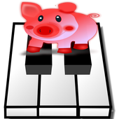 Piano -Animal Wallpaper icon