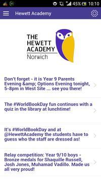 Hewett Academy poster