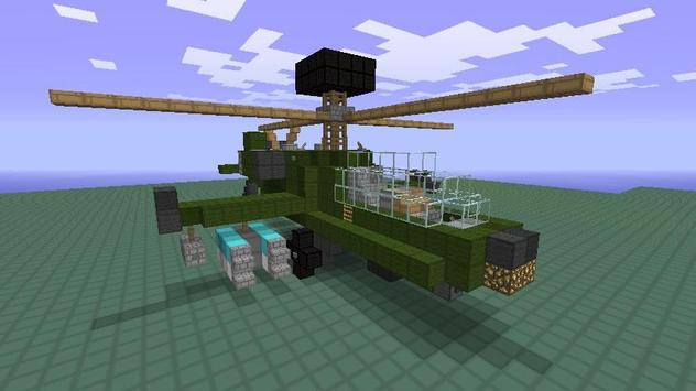 Mod Helicopter Craft poster