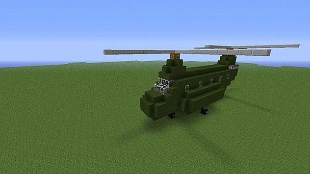 Mod Helicopter Craft apk screenshot