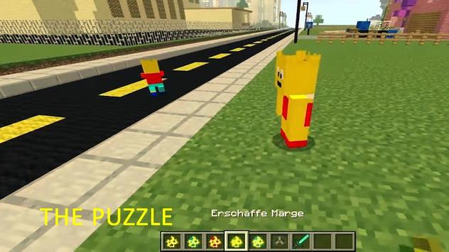 Mod Lisa Simpsons Craft - MCPE screenshot 4