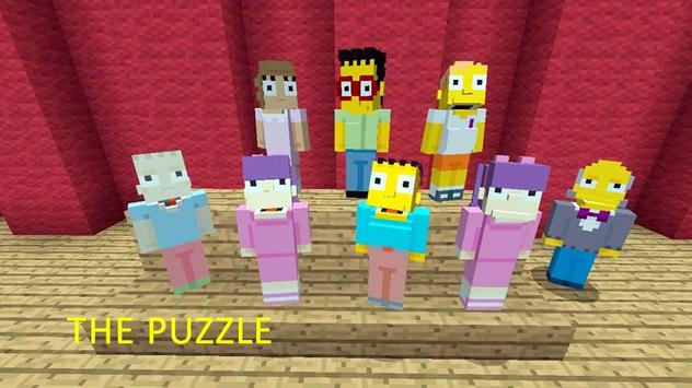 Mod Other Simpsons Craft MCPE poster