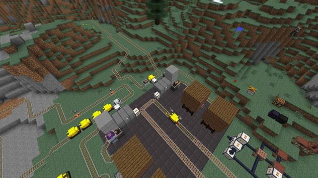 Mod Railcraft Ideas - MCPE poster