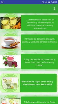 Consejos y Recetas de Salud apk screenshot