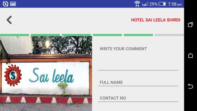 Hotel Saileela Rating App screenshot 2