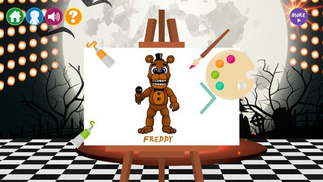 Draw Five Nights at Freddy's poster