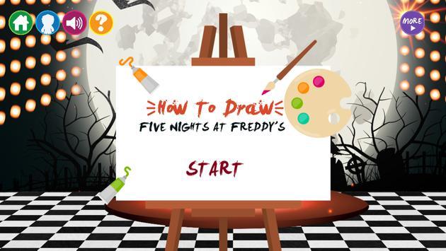 Draw Five Nights at Freddy's screenshot 16
