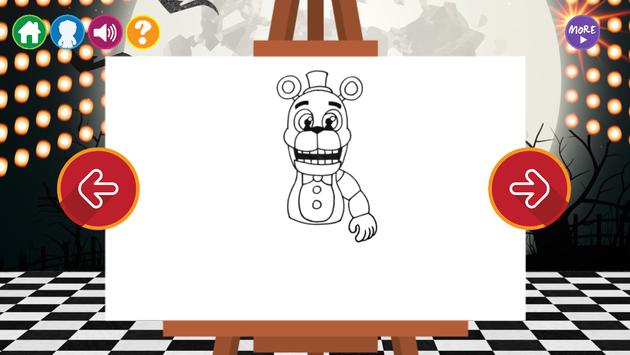 Draw Five Nights at Freddy's screenshot 1