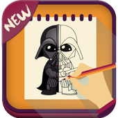 How to Draw Star Wars icon