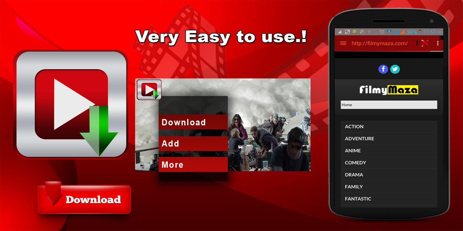 IDM Videos Download Manager Apk Screenshot