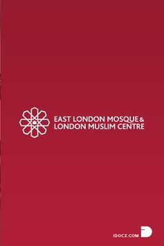 The East London Mosque App poster