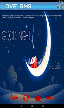 Good Night Love SMS apk screenshot