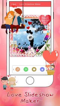 Love Slideshow Maker poster