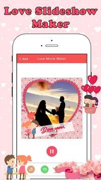 Love Slideshow Maker screenshot 1