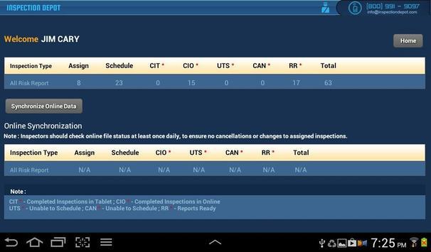 All Risk Report apk screenshot