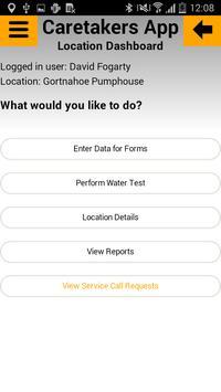 Caretakers App screenshot 2