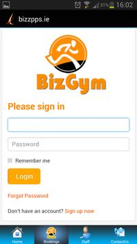 Biz Gym apk screenshot