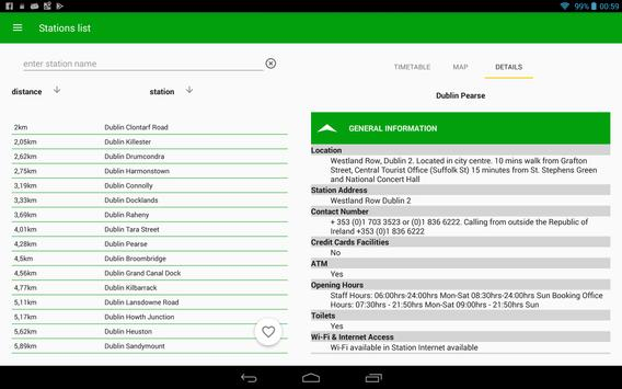 Irish Rail Realtime screenshot 15