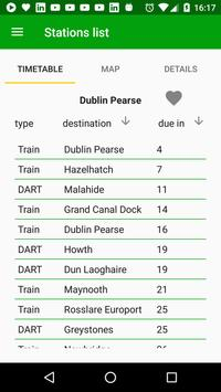 Irish Rail Realtime screenshot 2