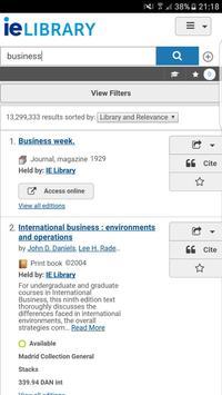 My IE Library apk screenshot