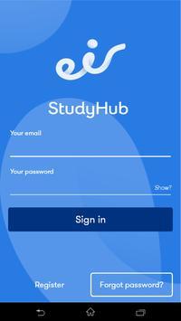 eir StudyHub poster