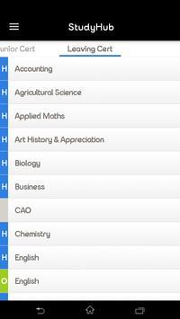eir StudyHub screenshot 2