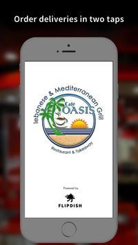 Cafe Oasis App poster
