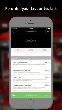 Cafe Oasis App screenshot 2