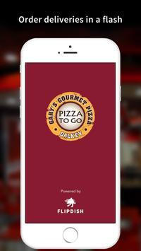 Gary's Gourmet Pizza poster