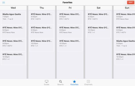 TV Listings Guide Ireland screenshot 7