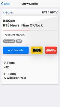 TV Listings Guide Ireland screenshot 1