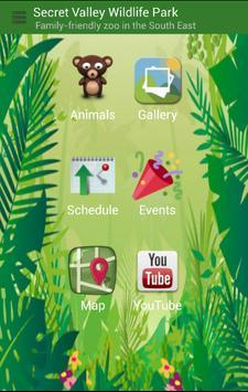 Secret Valley Wildlife Park poster
