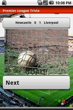 Premier League Trivia 2010 apk screenshot